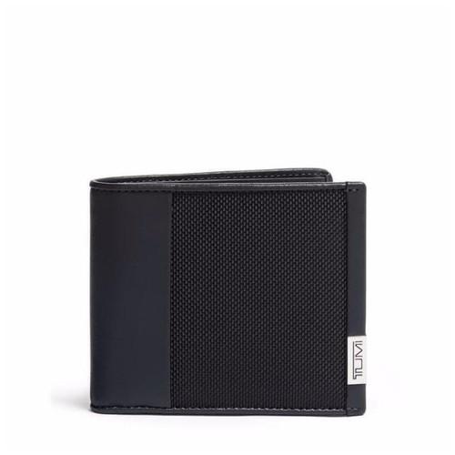 TUMI Alpha SLG Global Center Flip Passcase - Dompet Pria - Black