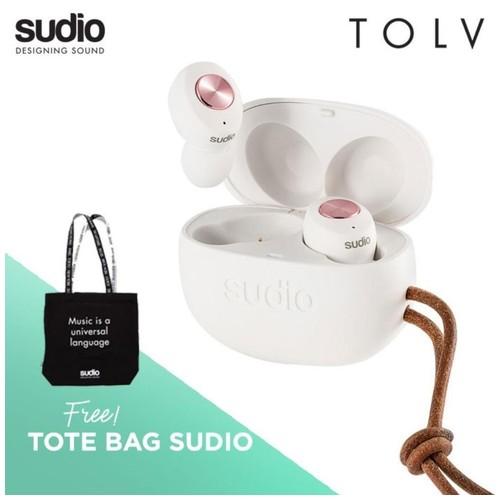 TOLV WHITE - True Wireless Earbuds