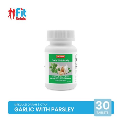 Enervita Garlic With Parsley 30 Tablet