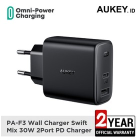 Aukey Charger PA-F3 Wall Ch