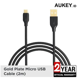 Aukey Cable 2M Micro USB 2.
