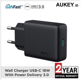 Aukey Charger USB-C 18W wit