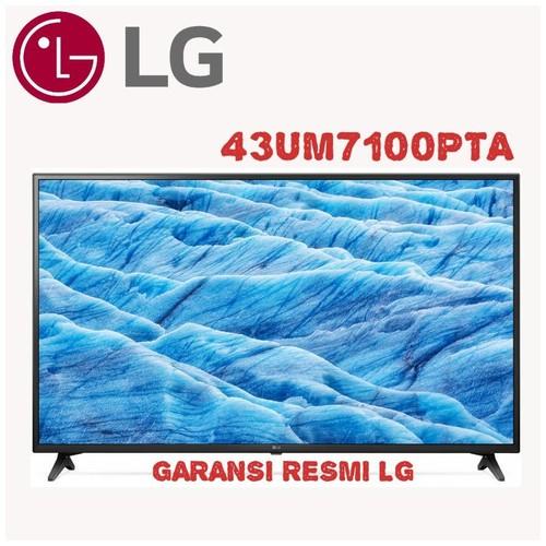 43UM7100PTA LG UHD 4K SMART LED TV 43 Inch HDR Flat Thinq Ai 43UM7100