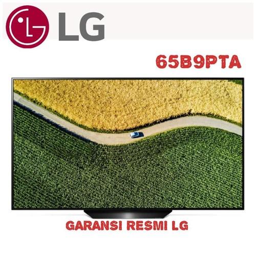 65B9 LG OLED 65 inch SMART TV 4K O LED HDR a7 Gen 2 65B9PTA ThinQ AI