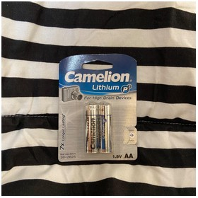 Camelion Lithium Battery AA