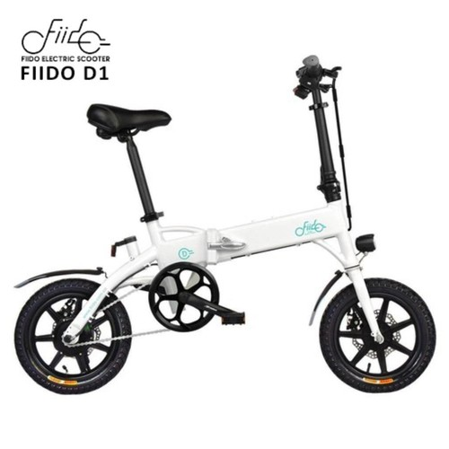 Fiido D1 10.4AH Folding Moped Bicycle 14 Inches Sepeda Listrik Lipat