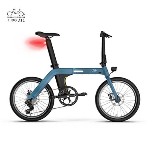 Fiido D11 Folding Electric Bike 20 Inch Sepeda Lipat Listrik Ramping dan Ringan - biru