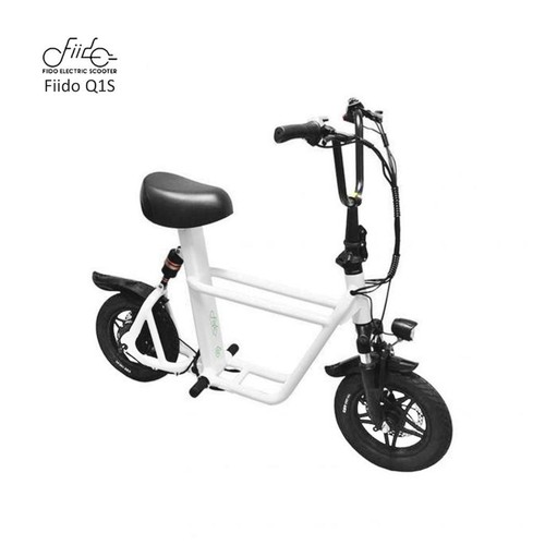 Fiido Q1S Dual Suspension Electric Scooter 36v 10Ah UL2272 Certified - Hitam