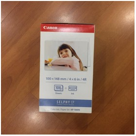 Canon Ink Paper Set KP-108i