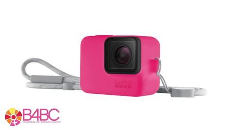 GoPro Sleeve + Lanyard Electric Pink - GP-ACSST-011