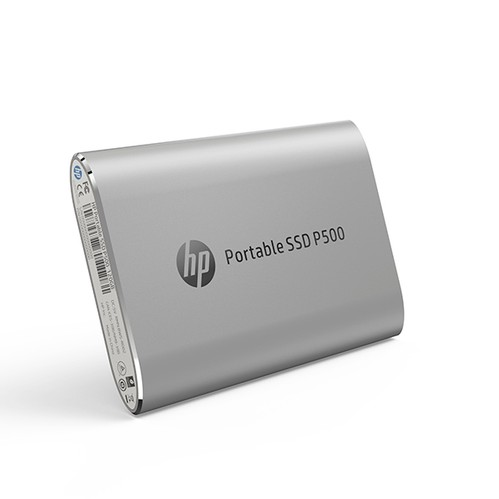 HP Portable SSD P500 500GB - Silver