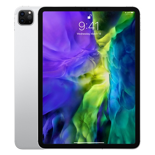 Apple 11-inch iPad Pro 4th Gen Wi-Fi + Cellular 256GB - Silver - MXE52PA/A (2020)