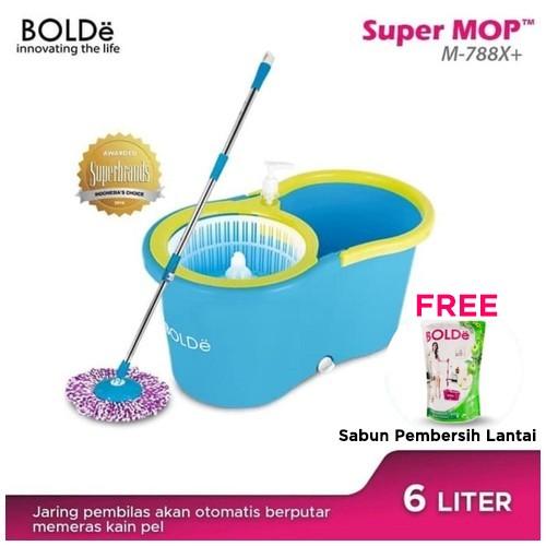 BOLDe Super Mop M-788x+ Blue