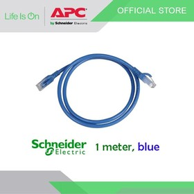 Patch Cord UTP Cat6 1M Biru