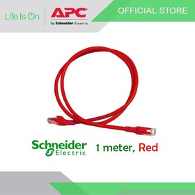 Patch Cord UTP Cat6 1M Red