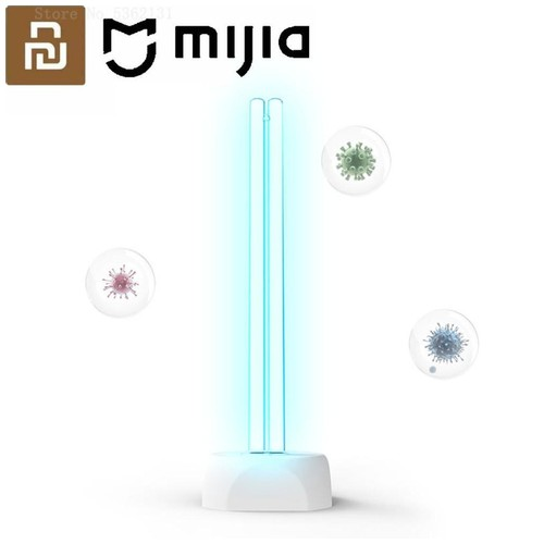 Xiaomi Mijia Youpin Huayi Lampu UV Ozone Portable Disinfektan Germicidal Lamp Sterilization