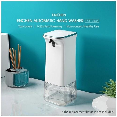 Xiaomi Mijia Enchen POP Clean Dispenser Sabun Otomatis Non-Contact Foaming Washing Hand - White