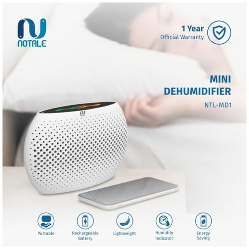 Notale Mini Dehumidifier Air Dryer Serap kelembapan Dry Humidifier - White