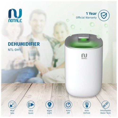 Notale Dehumidifier Air Dryer Serap kelembapan Humidifier - White