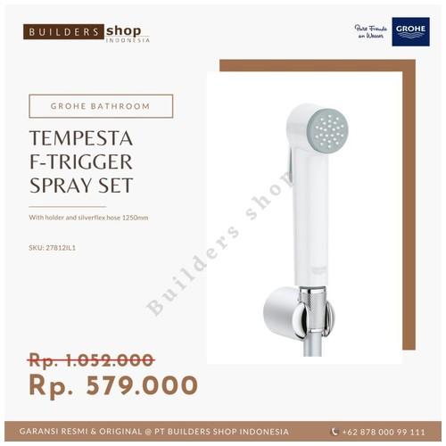 GROHE 27812IL1 - New Tempesta-F Trigger Spray Set / Jet Spray White