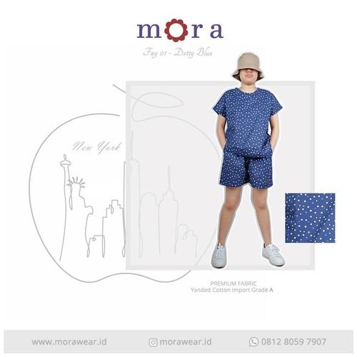 MORA Fay 01 Dotty Blue