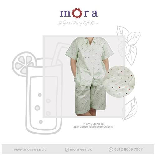 MORA Gaby 02 Dotty Soft Green