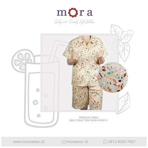 MORA Gaby 04 Candy Soft Yellow