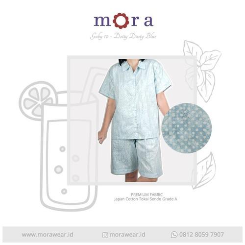 MORA Gaby 10 Dotty Dusty Blue