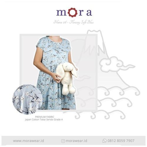 Mora Hana 06 Flowery Soft Blue
