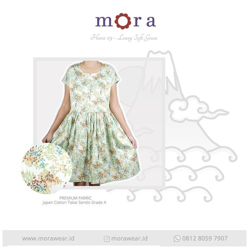 Mora Hana 09 Leavy Soft Green