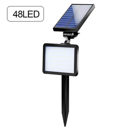 Goodland Lampu Taman Super Bright Solar Panel 48 Led 6000 6500k Ts G0202 Black Dinomarket Online Retail Premium Marketplace
