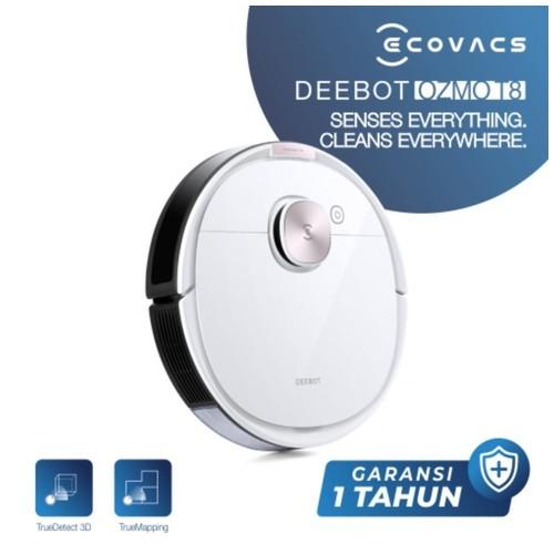 Ecovacs DEEBOT OZMO T8 Robot Vacuum Cleaner Vacum Sapu Pel Vakum Mop Mapping