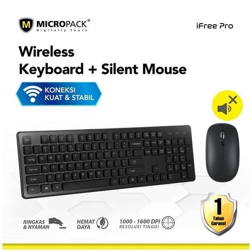 Micropack Mouse + Keyboard Wireless Combo (KM-236W)