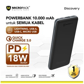 Micropack Power Bank 10000m
