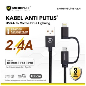 Micropack 2 in 1 Cable Micr