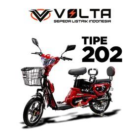 Volta 202 Scarlet Red