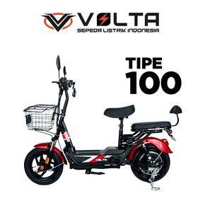 Volta 100 Matte Red
