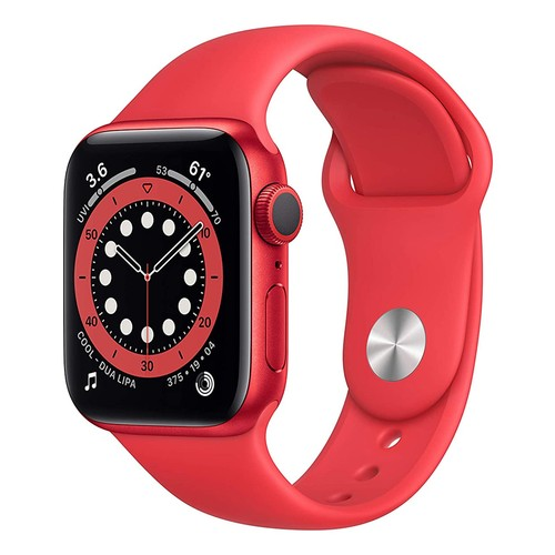 Apple Watch Series 6 GPS, 40mm PRODUCT(RED) Aluminium Case with PRODUCT(RED) Sport Band - Regular - M00A3ID/A