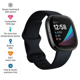 Fitbit Sense - Carbon