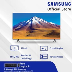 Samsung Crystal UHD 4K Smar