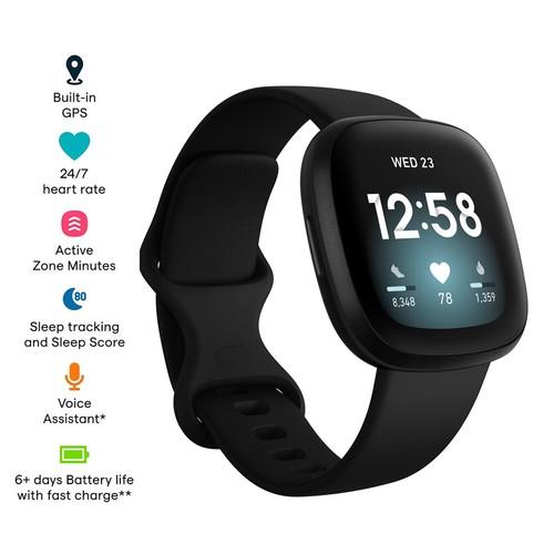 Fitbit Versa 3 - Black