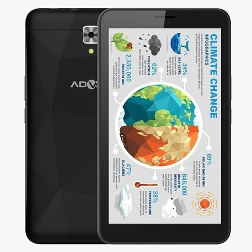Advan Tablet Belajar 7 - Black