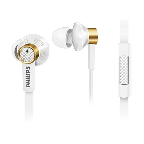 Philips In ear headphones with mic TX2WT - White