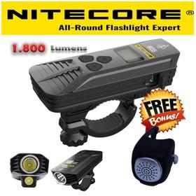 Nitecore Lampu Sepeda LED C