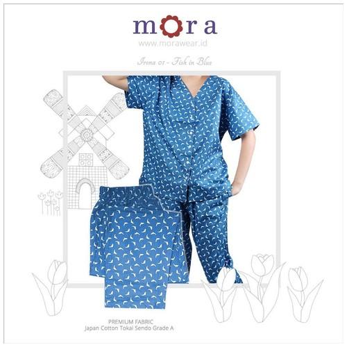 Mora Irona 01 Fish in Blue