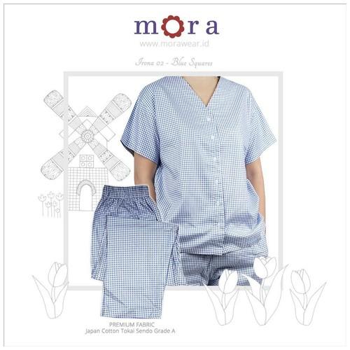 Mora Irona 02 Blue Squares