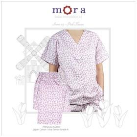 Mora Irona 03 Pink Flowers