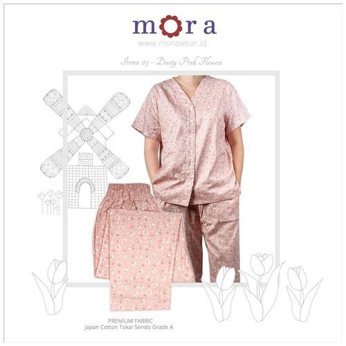 Mora Irona 05 Dusty Pink Flowers