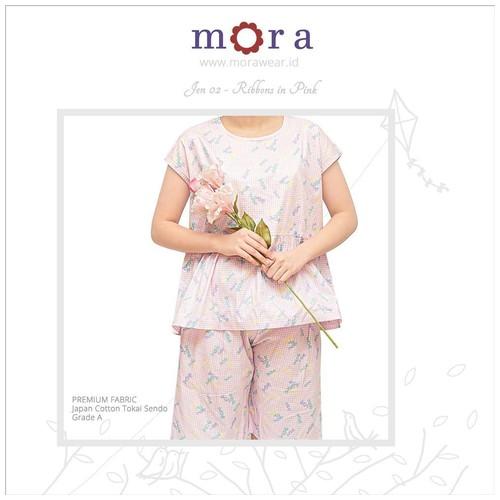 Mora Jen 02 - Ribbons in Pink
