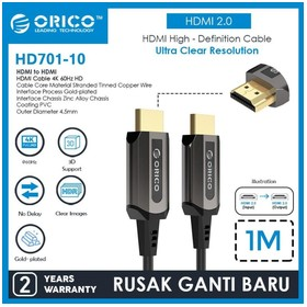 ORICO HDMI Cable 4K 60Hz HD